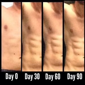 My 90 Days Transformation