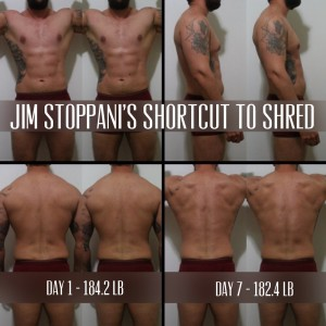 Week 1 Progress Shortcut to Shred